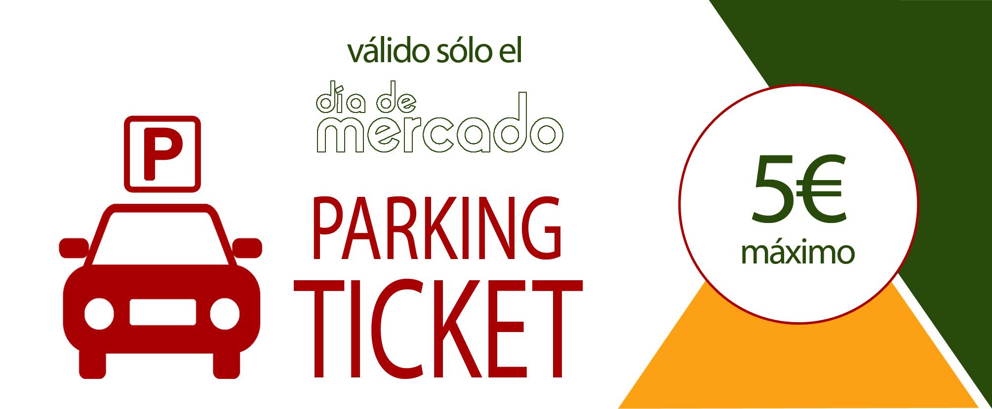 Descarga tu Ticket de Aparcamiento para el Día de Mercado