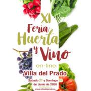 XI Feria de la Huerta y el Vino en Villa del Prado