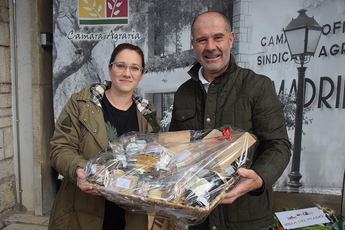Conoce a la ganadora del sorteo de la cesta de productos destacados del Día de Mercado de Noviembre 2017