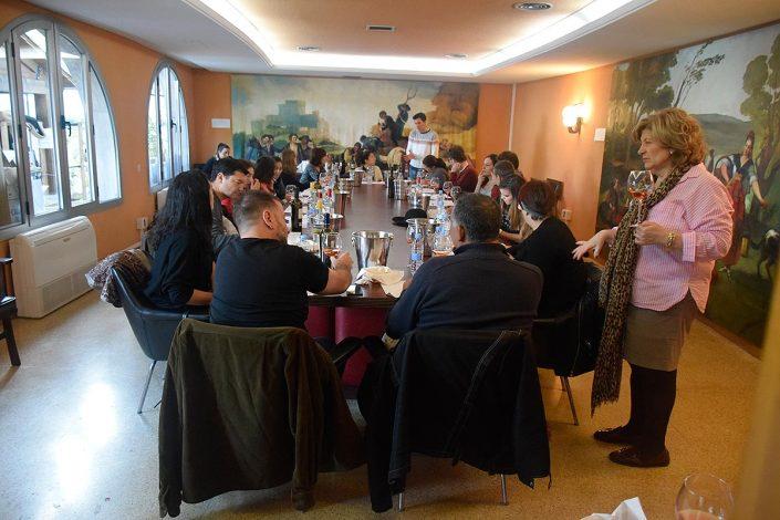 I Edición del Curso de Iniciación a la Cata de Vinos en la Cámara Agraria de la Comunidad de Madrid