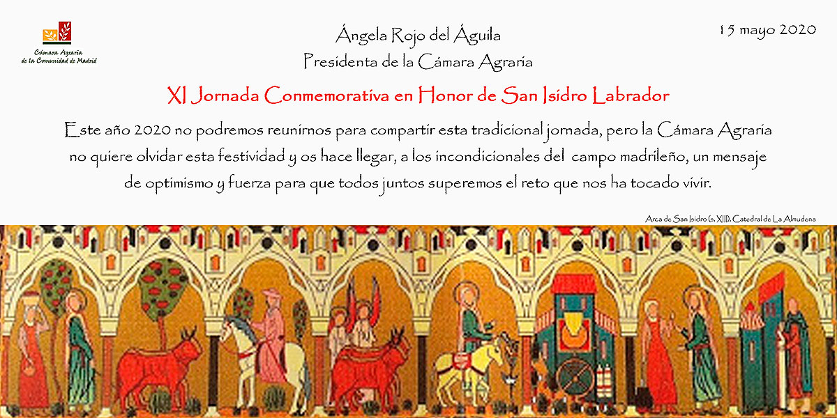 Mensaje de la Presidenta de la Cámara Agraria - San Isidro 2020