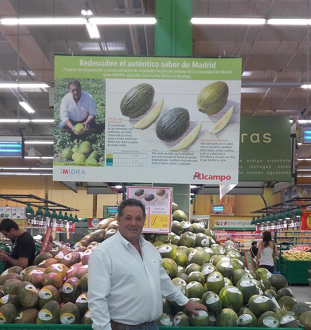 Los Melones de José Carlos Velasco, desde ahora, en Alcampo y el Día de Mercado